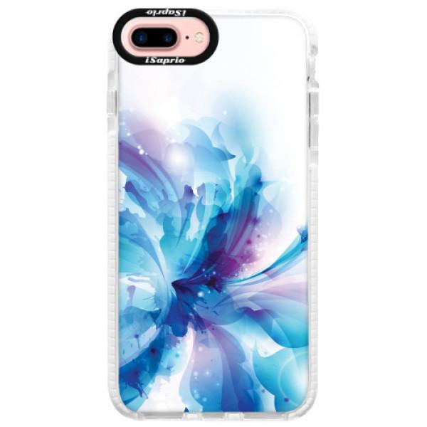 Silikonové pouzdro Bumper iSaprio - Abstract Flower - iPhone 7 Plus