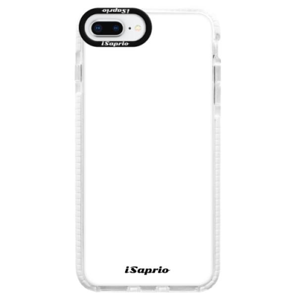 Silikonové pouzdro Bumper iSaprio - 4Pure - bílý - iPhone 8 Plus