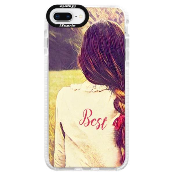 Silikonové pouzdro Bumper iSaprio - BF Best - iPhone 8 Plus