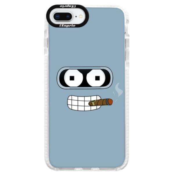 Silikonové pouzdro Bumper iSaprio - Bender - iPhone 8 Plus
