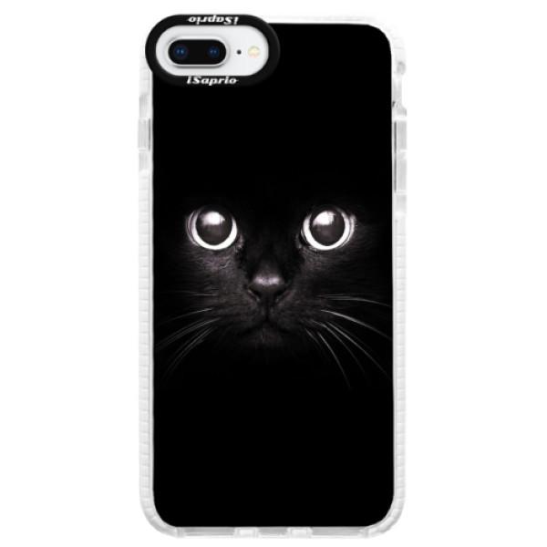 Silikonové pouzdro Bumper iSaprio - Black Cat - iPhone 8 Plus