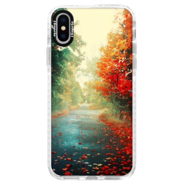 Silikonové pouzdro Bumper iSaprio - Autumn 03 - iPhone X
