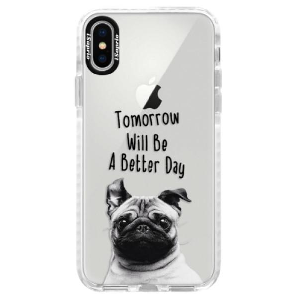 Silikonové pouzdro Bumper iSaprio - Better Day 01 - iPhone X