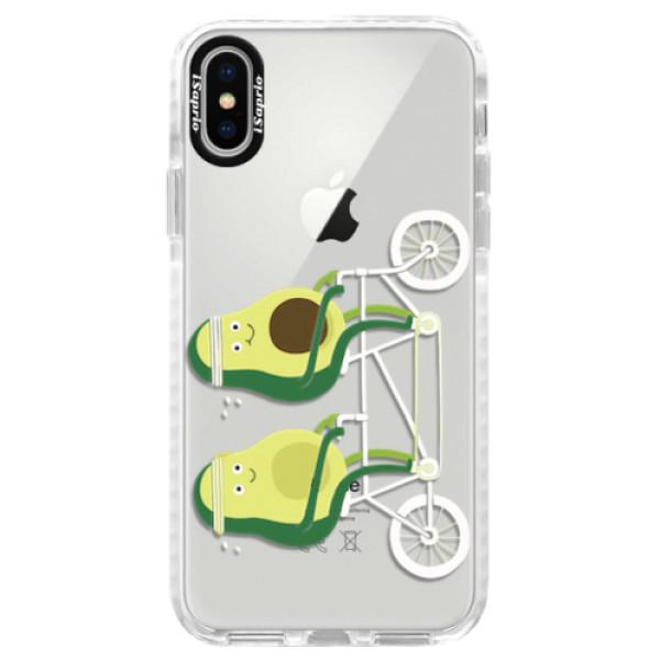 Silikonové pouzdro Bumper iSaprio - Avocado - iPhone X