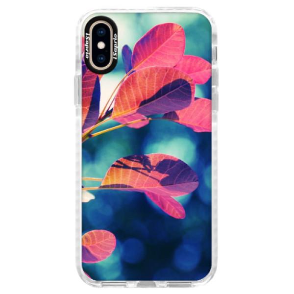 Silikonové pouzdro Bumper iSaprio - Autumn 01 - iPhone XS