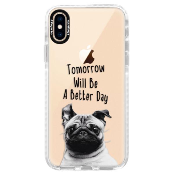 Silikonové pouzdro Bumper iSaprio - Better Day 01 - iPhone XS