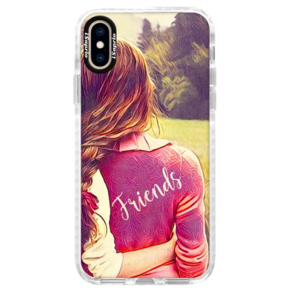 Silikonové pouzdro Bumper iSaprio - BF Friends - iPhone XS
