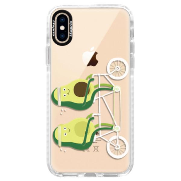 Silikonové pouzdro Bumper iSaprio - Avocado - iPhone XS