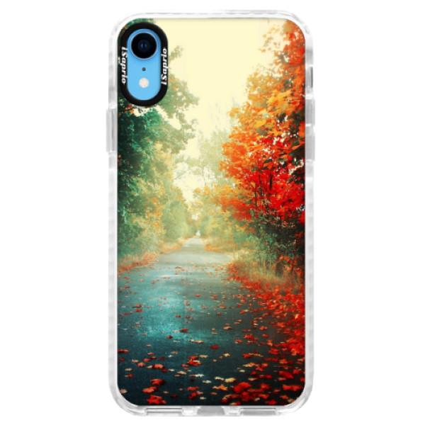 Silikonové pouzdro Bumper iSaprio - Autumn 03 - iPhone XR