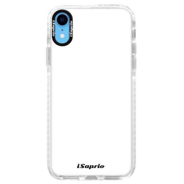 Silikonové pouzdro Bumper iSaprio - 4Pure - bílý - iPhone XR