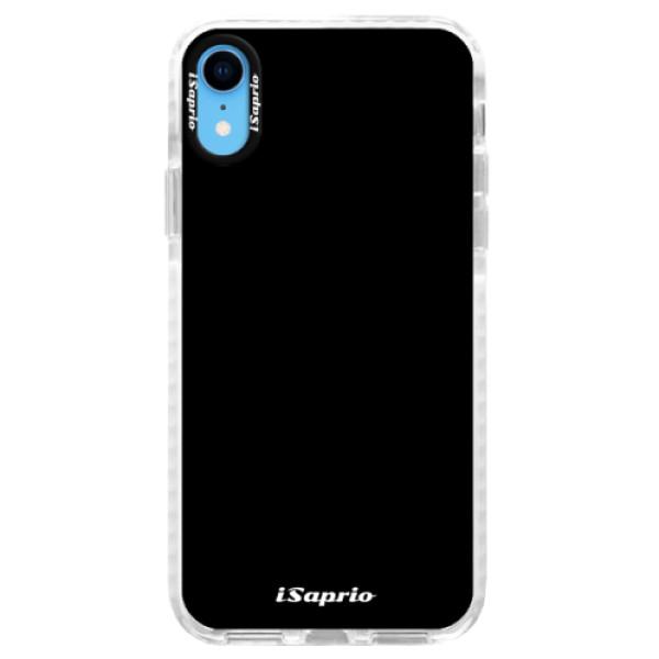 Silikonové pouzdro Bumper iSaprio - 4Pure - černý - iPhone XR