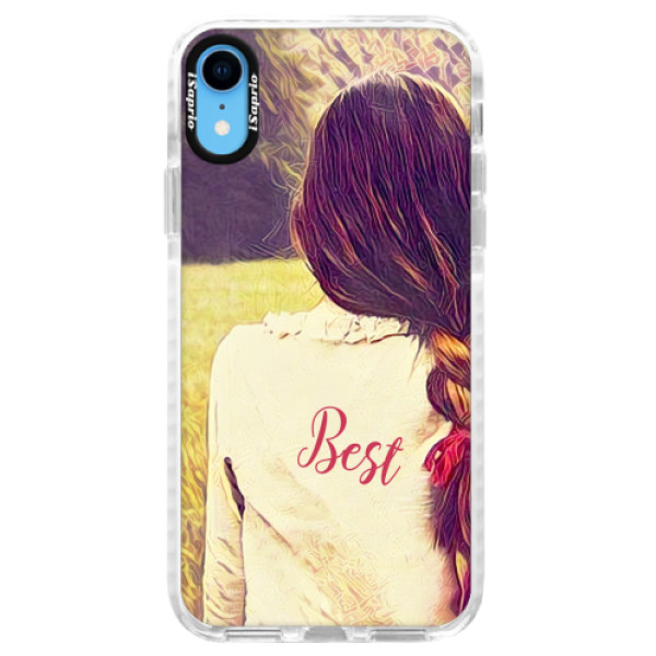 Silikonové pouzdro Bumper iSaprio - BF Best - iPhone XR