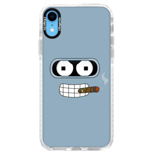 Silikonové pouzdro Bumper iSaprio - Bender - iPhone XR