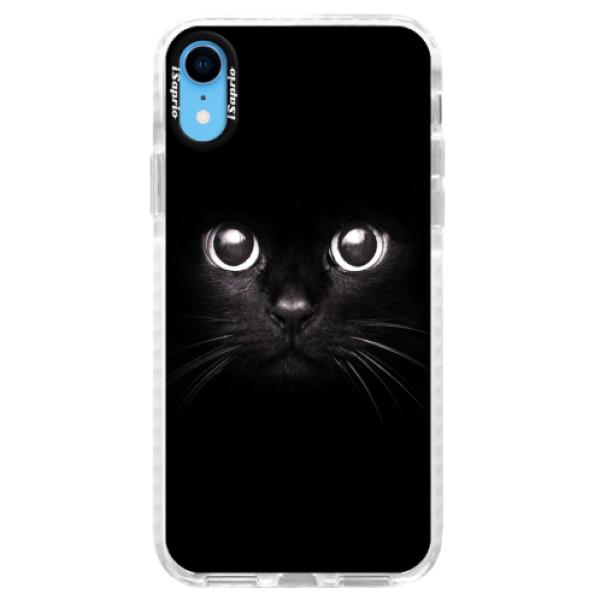 Silikonové pouzdro Bumper iSaprio - Black Cat - iPhone XR