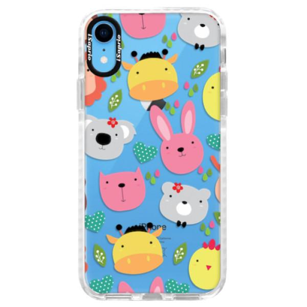 Silikonové pouzdro Bumper iSaprio - Animals 01 - iPhone XR