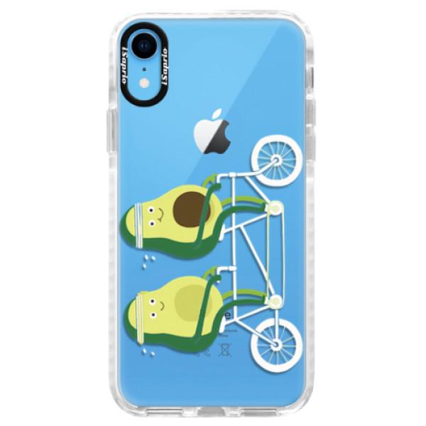 Silikonové pouzdro Bumper iSaprio - Avocado - iPhone XR