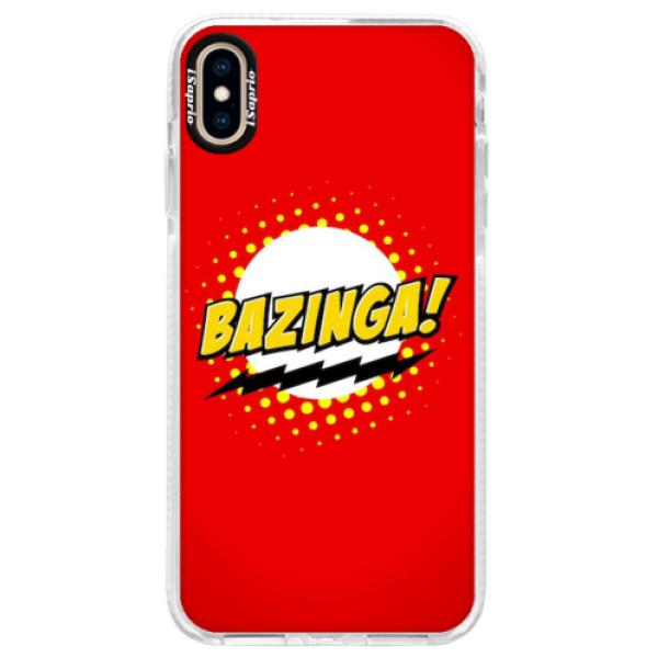 Silikonové pouzdro Bumper iSaprio - Bazinga 01 - iPhone XS Max