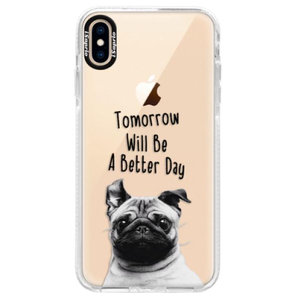 Silikonové pouzdro Bumper iSaprio - Better Day 01 - iPhone XS Max