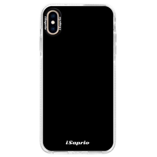 Silikonové pouzdro Bumper iSaprio - 4Pure - černý - iPhone XS Max