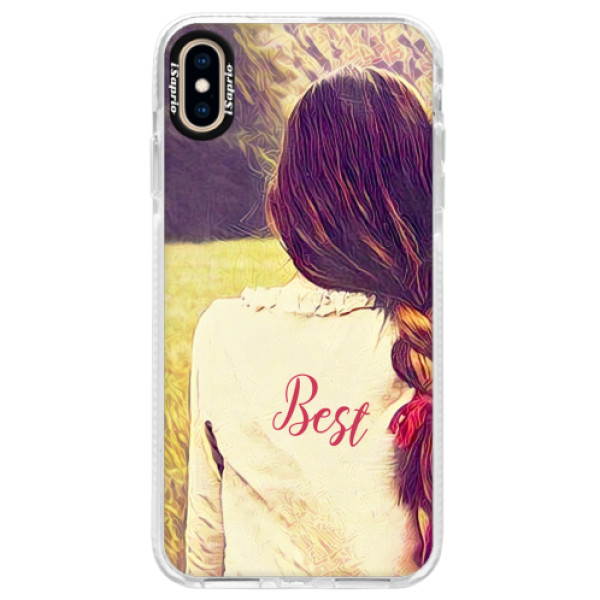 Silikonové pouzdro Bumper iSaprio - BF Best - iPhone XS Max