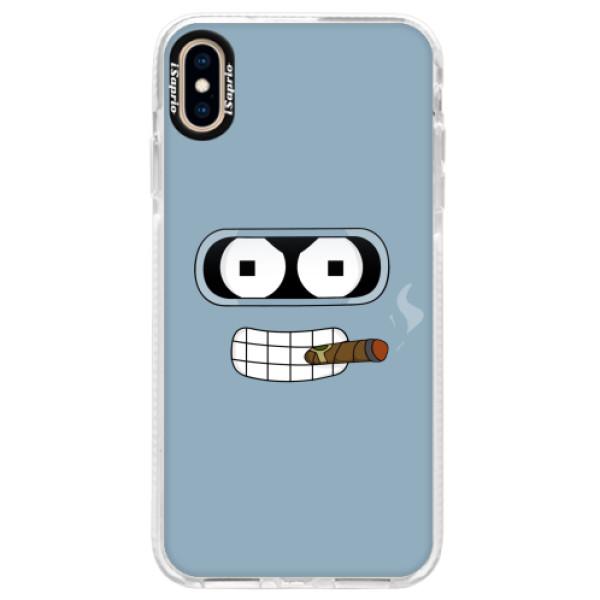 Silikonové pouzdro Bumper iSaprio - Bender - iPhone XS Max