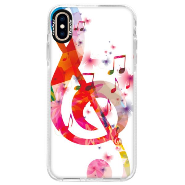Silikonové pouzdro Bumper iSaprio - Love Music - iPhone XS Max