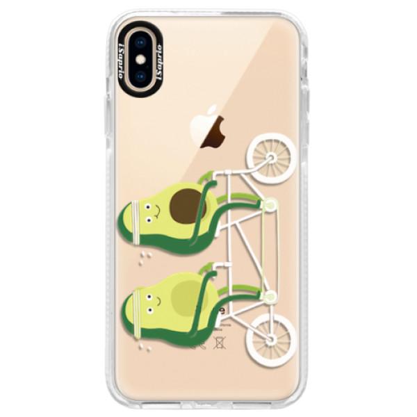 Silikonové pouzdro Bumper iSaprio - Avocado - iPhone XS Max