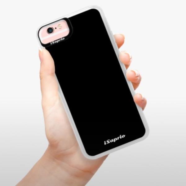Neonové pouzdro Pink iSaprio - 4Pure - černý - iPhone 6/6S