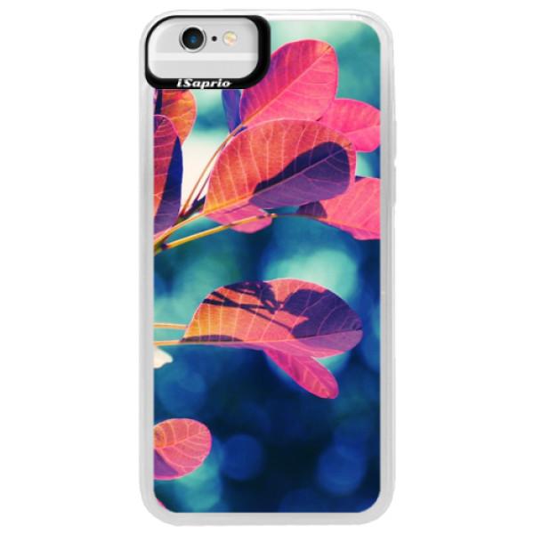 Neonové pouzdro Blue iSaprio - Autumn 01 - iPhone 6/6S