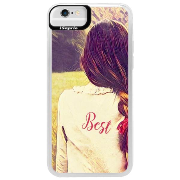 Neonové pouzdro Blue iSaprio - BF Best - iPhone 6/6S