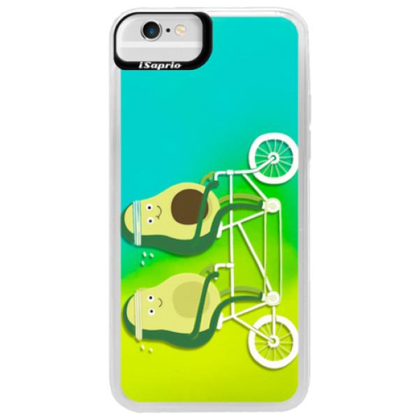 Neonové pouzdro Blue iSaprio - Avocado - iPhone 6/6S