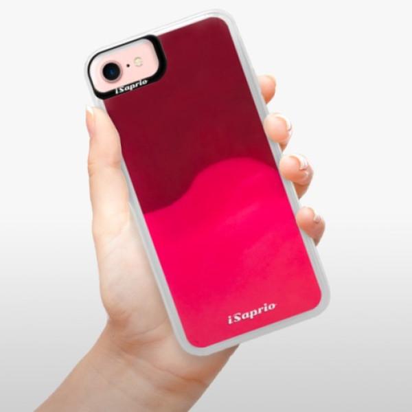 Neonové pouzdro Pink iSaprio - 4Pure - mléčný bez potisku - iPhone 7