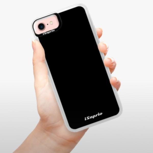 Neonové pouzdro Pink iSaprio - 4Pure - černý - iPhone 7