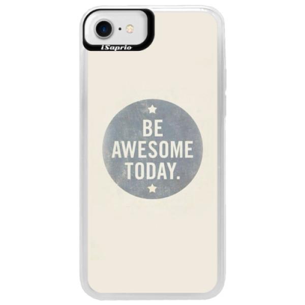 Neonové pouzdro Blue iSaprio - Awesome 02 - iPhone 7