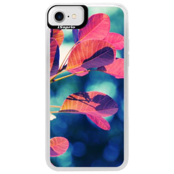 Neonové pouzdro Blue iSaprio - Autumn 01 - iPhone 7