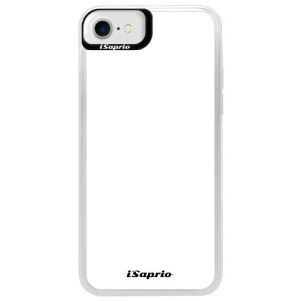 Neonové pouzdro Blue iSaprio - 4Pure - bílý - iPhone 7