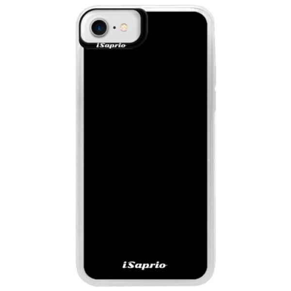 Neonové pouzdro Blue iSaprio - 4Pure - černý - iPhone 7
