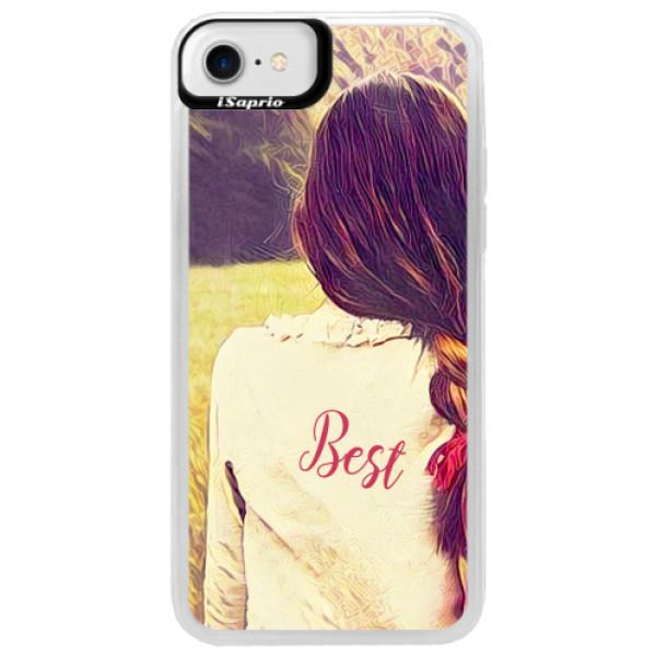 Neonové pouzdro Blue iSaprio - BF Best - iPhone 7