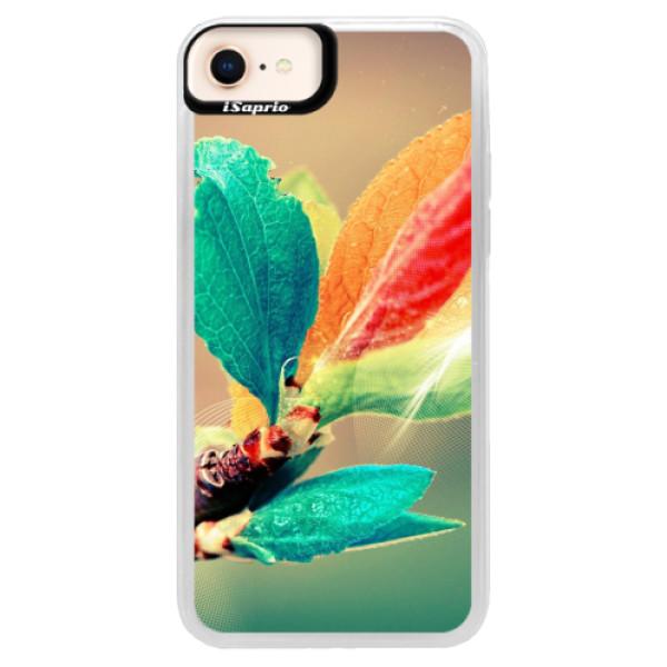 Neonové pouzdro Blue iSaprio - Autumn 02 - iPhone 8