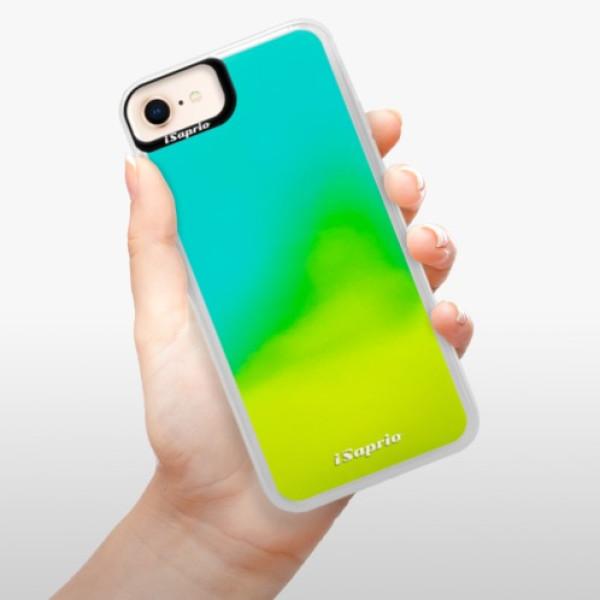 Neonové pouzdro Blue iSaprio - 4Pure - mléčný bez potisku - iPhone 8