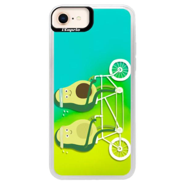 Neonové pouzdro Blue iSaprio - Avocado - iPhone 8