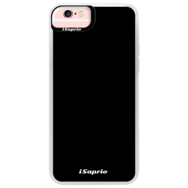 Neonové pouzdro Pink iSaprio - 4Pure - černý - iPhone 6 Plus/6S Plus