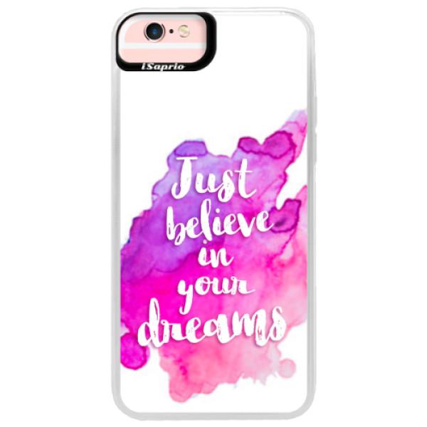Neonové pouzdro Pink iSaprio - Believe - iPhone 6 Plus/6S Plus