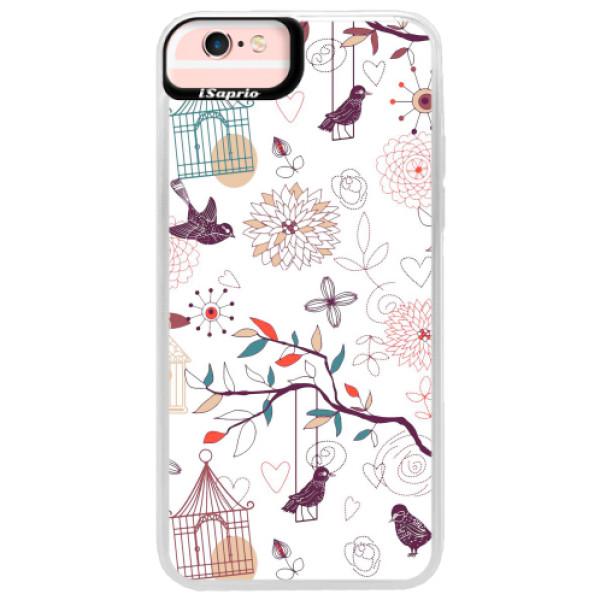 Neonové pouzdro Pink iSaprio - Birds - iPhone 6 Plus/6S Plus
