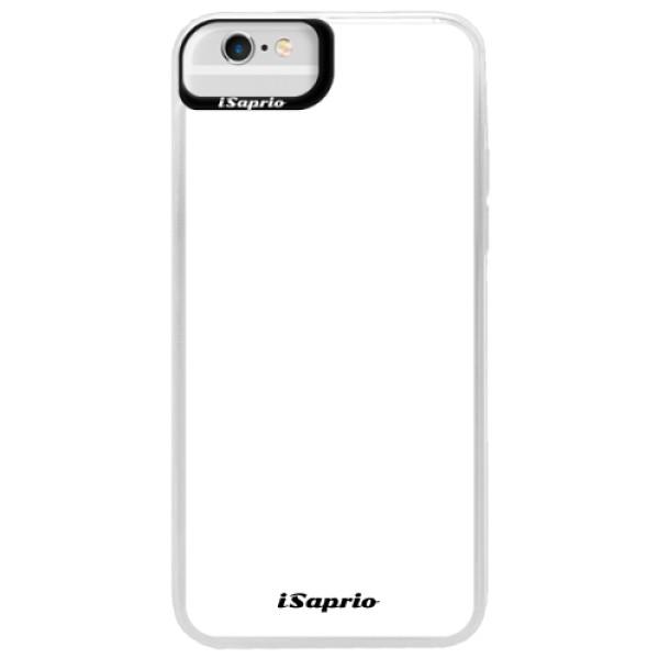 Neonové pouzdro Blue iSaprio - 4Pure - bílý - iPhone 6 Plus/6S Plus