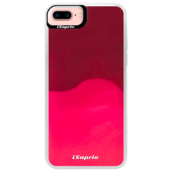 Neonové pouzdro Pink iSaprio - 4Pure - mléčný bez potisku - iPhone 7 Plus