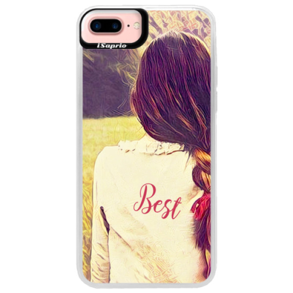 Neonové pouzdro Pink iSaprio - BF Best - iPhone 7 Plus