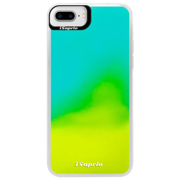 Neonové pouzdro Blue iSaprio - 4Pure - mléčný bez potisku - iPhone 7 Plus