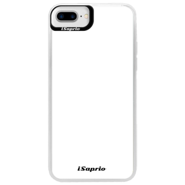 Neonové pouzdro Blue iSaprio - 4Pure - bílý - iPhone 7 Plus
