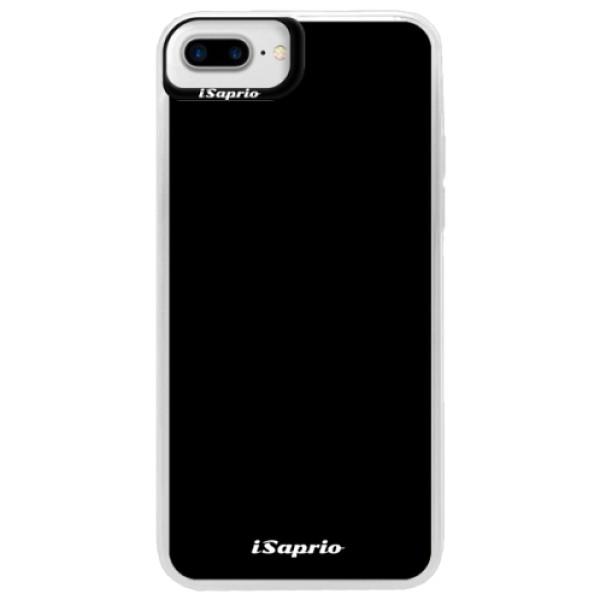Neonové pouzdro Blue iSaprio - 4Pure - černý - iPhone 7 Plus